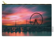 Sunset Over National Harbor Ferris Wheel Carry-all Pouch