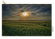 Sunset Over North Pas De Calais In France Carry-all Pouch