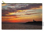 Sunset Over Sandy Neck Lighthouse Carry-all Pouch