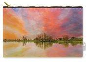 Sunset Over Sauvie Island Carry-all Pouch
