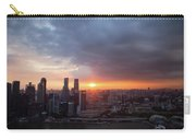Sunset Over Singapore Carry-all Pouch