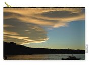 Sunset Over South Island Of New Zealand Carry-all Pouch