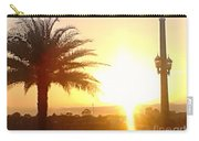 Sunset Over St Augustine Florida Carry-all Pouch