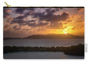 Sunset Over St. Thomas Carry-all Pouch