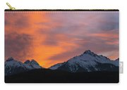 Sunset Over Tantalus Range Panorama Carry-all Pouch