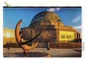 Sunset Over The Adler Planetarium Chicago Carry-all Pouch