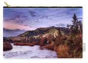 Sunset Over The American River Carry-all Pouch