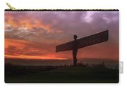 Sunset Over The Angel.  Carry-all Pouch