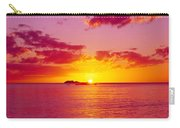 Sunset Over The, Atlantic Ocean, Cat Carry-all Pouch