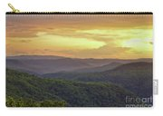Sunset Over The Bluestone Gorge - Pipestem State Park Carry-all Pouch