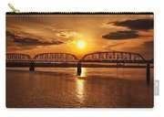 Sunset Over The Bridge Carry-all Pouch