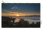 Sunset Over The Columbia River Carry-all Pouch