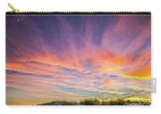 Sunset Over The Dunes Carry-all Pouch
