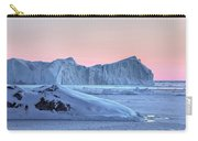 sunset over the Icefjord - Greenland Carry-all Pouch