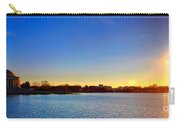 Sunset Over The Jefferson Memorial  Carry-all Pouch