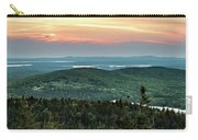 Sunset Over The Lakes Carry-all Pouch