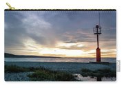 Sunset Over The Mediterranean Coastline Carry-all Pouch