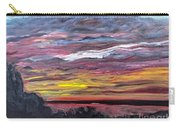 Sunset Over The Mississippi Carry-all Pouch