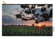 Sunset Over The Plains Carry-all Pouch