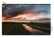 Sunset Over The River Wyre Carry-all Pouch