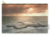 Sunset Over The Sea In Israel Carry-all Pouch