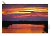 Sunset Over The Tomoka Carry-all Pouch