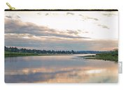 Sunset Over Union Bay Tall Panorama Carry-all Pouch