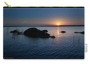 Sunset Over Wilson Lake Carry-all Pouch