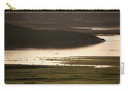 Sunset Over Yellowstone River In Yellowstone National Park Carry-all Pouch