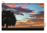 Sunset Palm Florida Carry-all Pouch