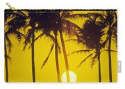 Sunset Palms And Family Carry-all Pouch