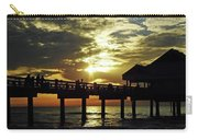 Sunset Pier Reflection Carry-all Pouch