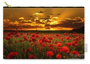 Sunset Poppies The Bbmf Carry-all Pouch