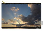 Sunset Rays On The Shore Carry-all Pouch