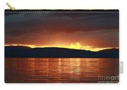 Sunset Red Carry-all Pouch