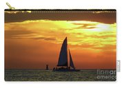 Sunset Sail Away Carry-all Pouch