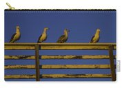 Sunset Seagulls Carry-all Pouch