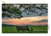 Sunset Seating Portrait Carry-all Pouch