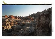 Sunset Shadows In The Badlands Carry-all Pouch