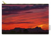 Sunset Silhouette H1816 Carry-all Pouch