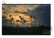 Sunset Silhouettes In June Carry-all Pouch