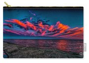 Sunset Sky At East Point Carry-all Pouch