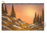 Sunset Spruces Carry-all Pouch