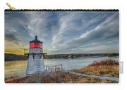 Sunset, Squirrel Point Lighthouse Carry-all Pouch