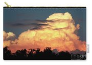 Sunset Storm Clouds Over The Marsh Carry-all Pouch