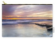 Sunset Storm Carry-all Pouch by Mike  Dawson