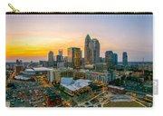 Sunset Sunrise Over Charlotte Skyline North Carolina Carry-all Pouch