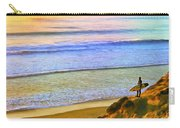 Sunset Surf At La Jolla Carry-all Pouch