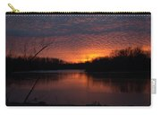 Sunset Textures Carry-all Pouch