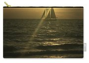 Sunset Through Sailboat Carry-all Pouch